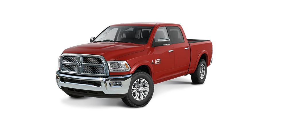 Ram 2500 Flame Red